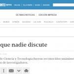 La vaca Rosita como un hito científico nacional, en Tiempo Argentino
