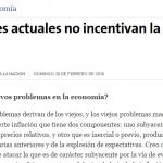 Entrevista a Enrique Dentice, en La Nación