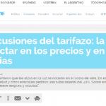 Enrique Dentice habla sobre el tarifazo, en El Argentino