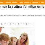 Liliana Fonseca habla sobre el inicio escolar, en INFOBAE