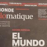 Le Monde Diplomatique y una edición completa con la UNSAM
