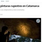 Una investigación de IIPC-Tarea sobre arte rupestre, en La Nación
