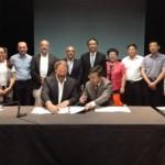 Acuerdo con China para coproducir una obra de títeres