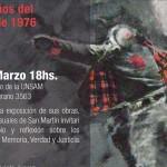 """Charla-debate: """"Encuentro por la memoria, la verdad y la justicia. A 40 años del golpe de 1976"""""""