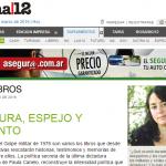 Entrevista a Paula Canelo en el suplemento Radar de Página/12