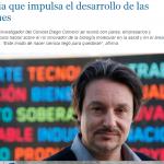Entrevista a Diego Comerci en La Capital, de Rosario