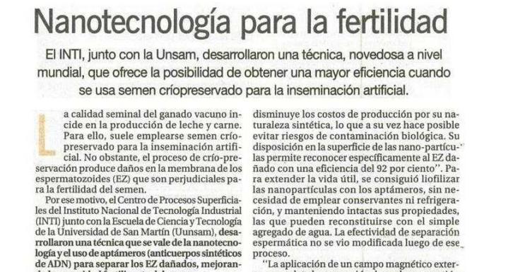 nanotec esperma uelm
