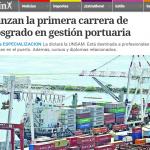 Clarín entrevista a Virginia Pieroni sobre el posgrado en Gestión Portuaria