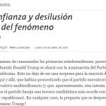 Columna de Juan Negri en La Nación sobre Donald Trump