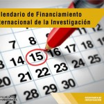 Calendario de Financiamiento Internacional de la Investigación