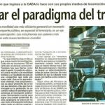 José Barbero fue consultado sobre transporte urbano en La Prensa