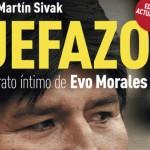 """El libro de Martín Sivak """"Jefazo. Retrato íntimo de Evo Morales"""" fue presentado en China"""