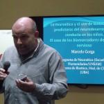 Marcelo Gorga brindó una charla sobre neuroética
