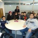 Visita de una Escuela Técnica en el marco de la Feria de Ciencias Humanas y Sociales de la UNSAM