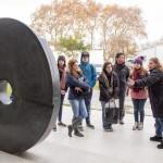El Campus Miguelete abrió las puertas de su paseo escultórico