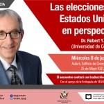 Conferencia de Robert Shapiro sobre las elecciones en Estados Unidos