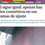 Clarín consultó a Pablo Nemiña sobre el FMI
