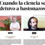 Clarín consultó a Diego Hurtado sobre la Noche de los Bastones Largos