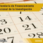 Calendario de Financiamiento Nacional de la Investigación 2018
