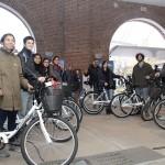 Alumnos de la UNSAM recibieron bicicletas a préstamo por un año