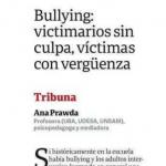 Ana Prawda escribió sobre acoso escolar en Clarín