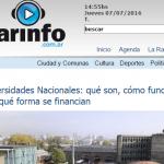 Arinfo consultó a Marcelo Prado sobre la importancia de la universidad pública
