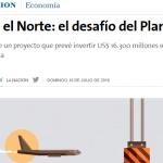 La Nación consultó a José Barbero sobre el Plan Belgrano