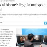 Francisco Famá consultado por Perfil sobre medicina legal