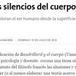 Reseña del último libro de Walter Cenci en La Nación