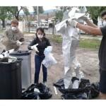 Se realizó en el Campus un estudio de caracterización de residuos
