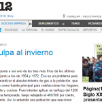 Página/12 consulta a Salvador Gil sobre cómo ahorrar gas