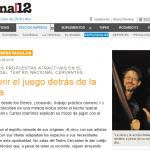 """Página/12 habló con Gerardo Hochman sobre """"Leonardo. Trabajo práctico N.° 1″"""