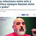 Entrevista a Pablo Seman en La Gaceta de Tucumán