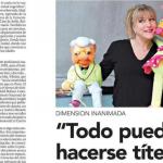 Entrevista a Antoaneta Madjarova en Clarín