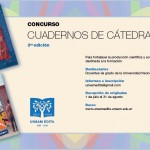 Concurso Cuadernos de Cátedra 2016