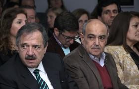 Ricardo Alfonsín y Daniel Di Gregorio