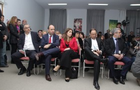 Alejandro Gennari, Marcelo Paz, Danya Tavela, Diego Marías y Diego Kampel