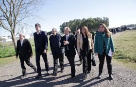 Javier Gastón, Esteban Bullrich, Ricardo Alfonsín, Carlos Ruta, Liliana Denot