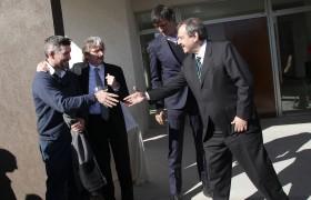 Adrián Mutto, Carlos Ruta, Esteban Bullrich y Ricardo Alfonsín