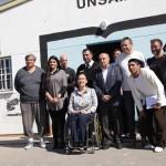 Gabriela Michetti visitó el CUSAM