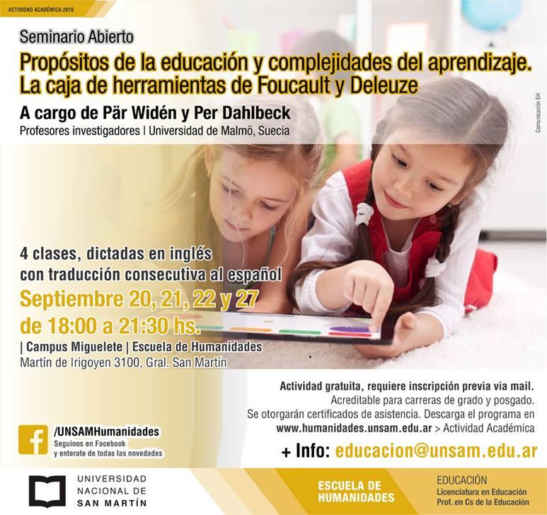 Seminario Educacion