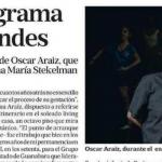 """Oscar Araiz habla con La Nación sobre """"Peripecia"""""""