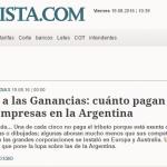 El Cronista consulta a Alejandro Gaggero sobre evasión fiscal