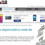 Columna de Eduardo Crespo en Página/12