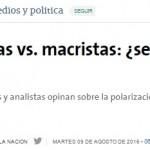 Marcelo Escolar debate sobre política en La Nación