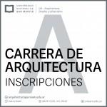 Inscripciones 2017: Arquitectura