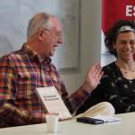 Whitehead y Behrend presentaron su libro en la Escuela de Política y Gobierno