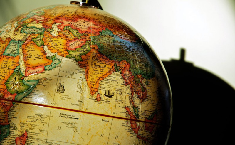 south-asia-globe