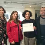 La Biblioteca Central recibió un premio por su trabajo en el Proyecto UNES