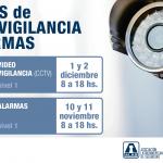 Cursos de Video Vigilancia (CCTV) y Alarmas